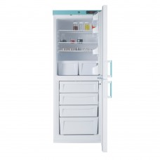 LSC324UK LEC Medical Freestanding Fridge Freezer Combi Solid Door 324L