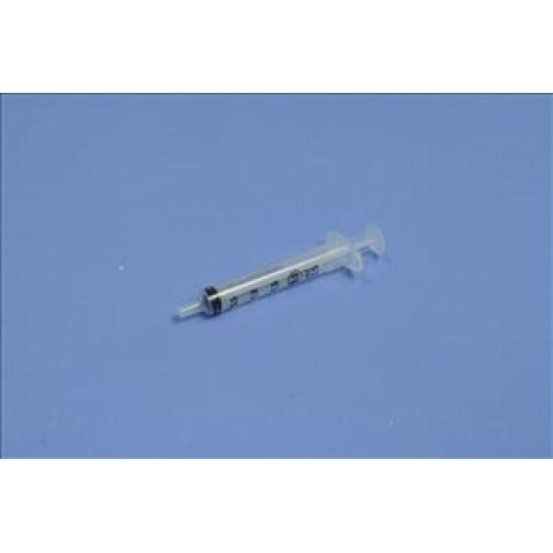 Syringe hypodermic concentric luer slip 2ml BD Plastipak