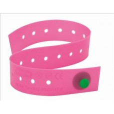 Tourniquet Single use latex free button type fastening - pink device easily identifiable should it be left in-situ by error Vene K