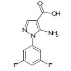 5-amino-1-(3,5-difluorophenyl)-1H-pyrazole-4-carboxylic acid