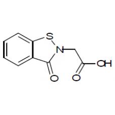 (3-oxo-1,2-benzisothiazol-2(3H)-yl)acetic acid