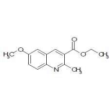 ethyl 6-methoxy-2-methylquinoline-3- carboxylate